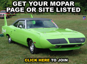 Join The Top 100 Mopar Enthusiast Sites!
